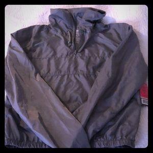Crop top rain jacket